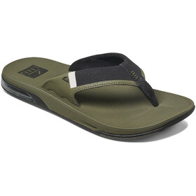 Reef Fanning 2.0 Teenslippers Heren, olive